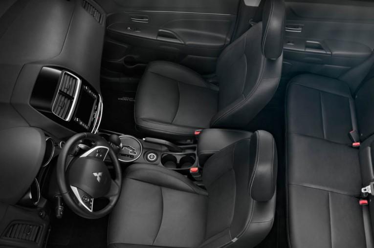 2015 Mitsubishi ASX Interior