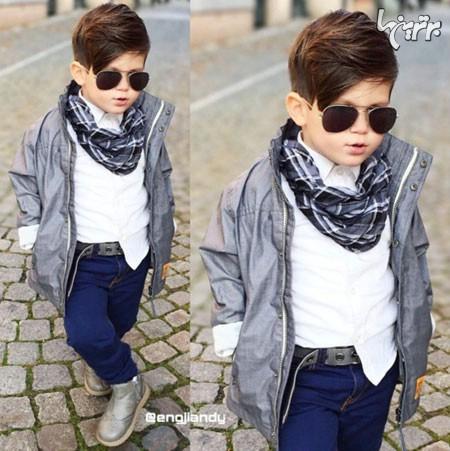 عکس کودک پسر خوشتیپ
