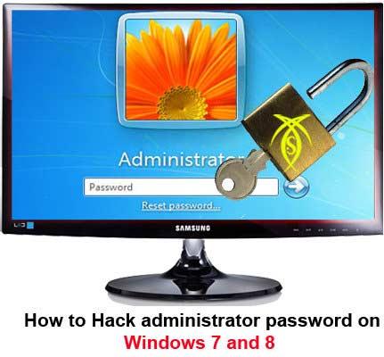 آموزش هک پسورد ویندوز XP و 7 و 8  (  تصویری +فیلم )