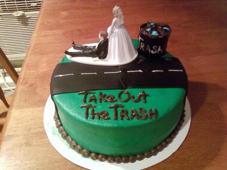 عکس کیک طلاق