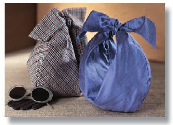 کیف پارچه ای دست دوز