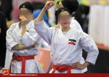 کسب مدال توسط ورزشکاران زن به قیمت زیرپا گذاشتن ارزشهای اسلامی!+عکس