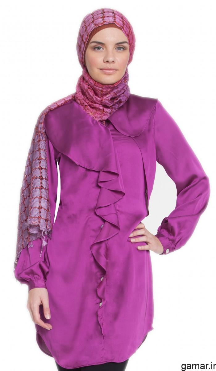 انواع مدل پیراهن بلند نخی مدل لباس مجلسی با حریر