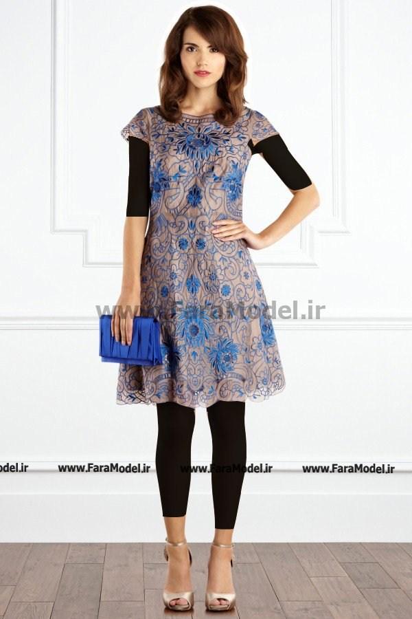 عکس لباس مجلسی گیپور جدید