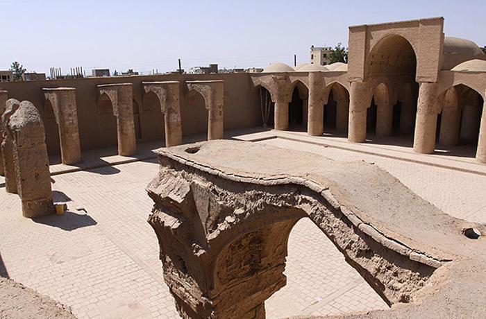 قدیمی ترین مسجد ایران - تاریخانه