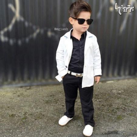 عکس+کودک+پسر+خوشتیپ