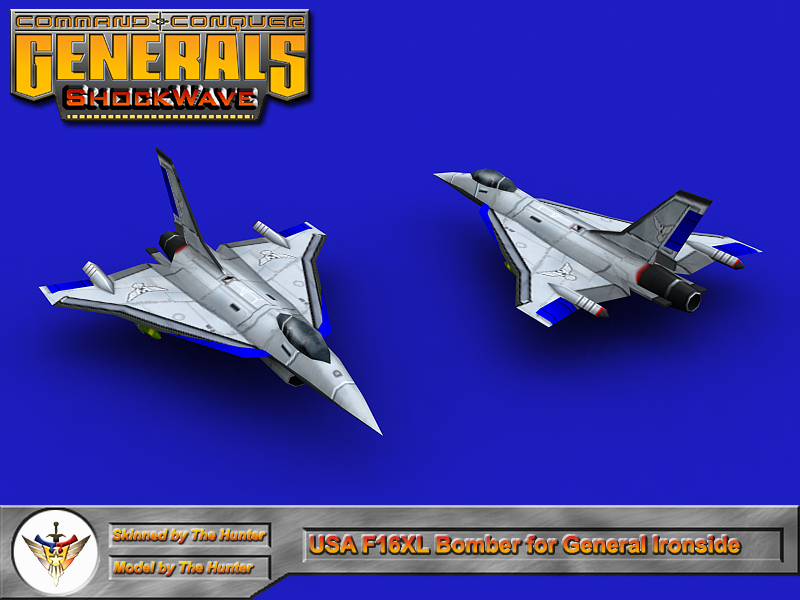 Shockwave - USA F16XL Bomber