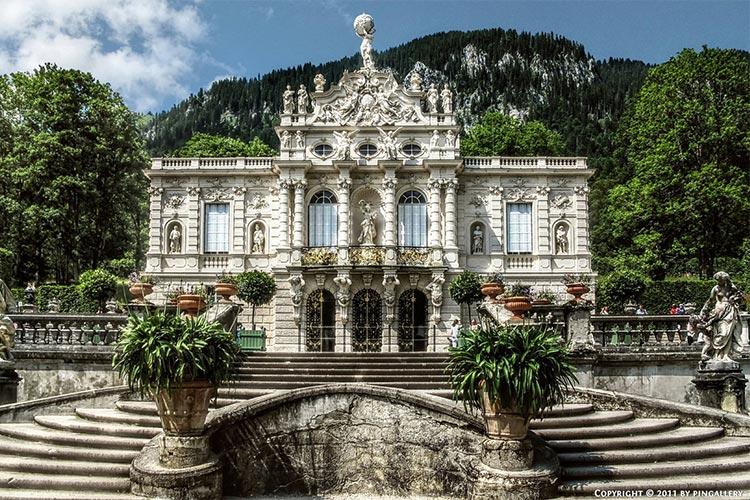 قصر لیندرهاف باواریا