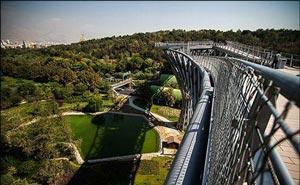 پل طبیعت؛ زیباترین پل مدرن ایران در تهران