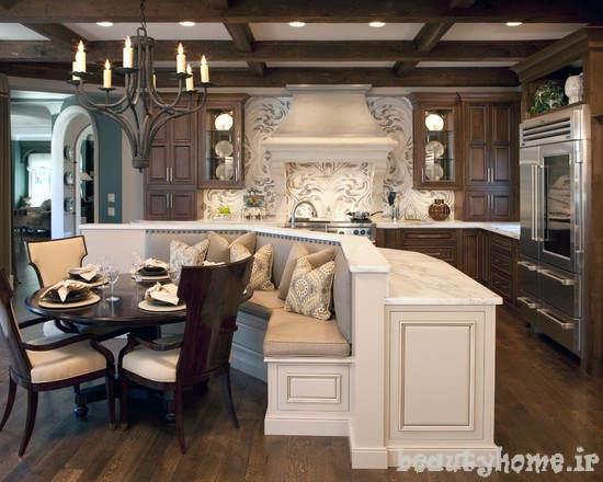 عکس مدل دکوراسیون آشپزخانه مدرن