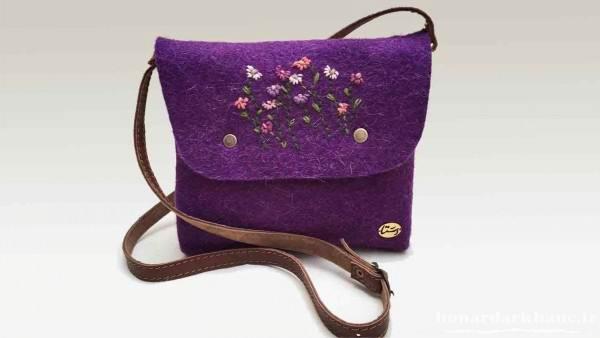 آموزش دوخت کیف چرم زنانه با روشی جدید و آسان