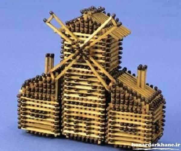 کاردستی با جای دارو ساخت کاردستی با چوب کبریت با ایده های جدید و خلاقانه - طرز ...