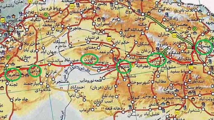 خراسان رضوی جاذبه های گردشگری ایران