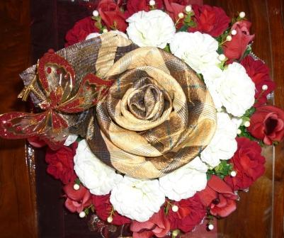 تزئین خلعتی عروس یا داماد1