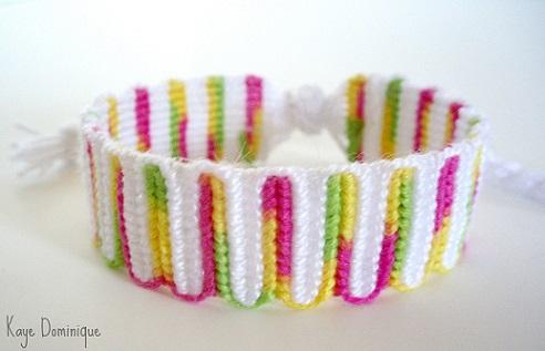 Vertical Wave Bracelet