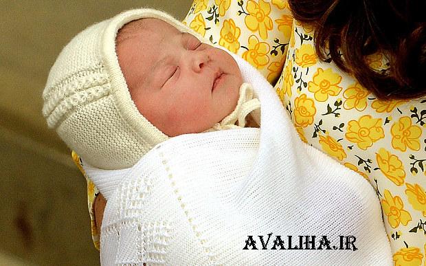 دختر شاهزاده انگلیس و کیت میدلتون