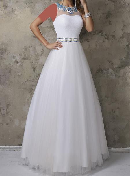 مدل لباس نامزدی سفید, لباس مجلسی سفید