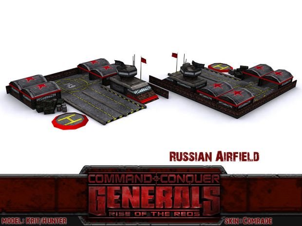 Rise Of The Reds - Russian Airfield