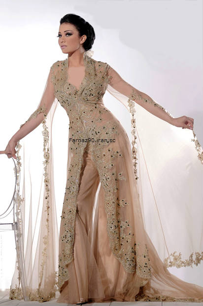 لباس مجلسی طرح گیپور