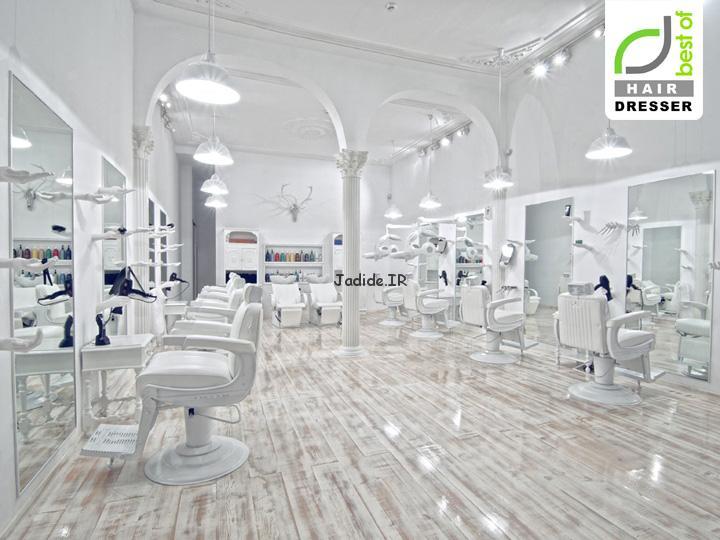 مدل دکوراسیون آرایشگاه زنانه 95