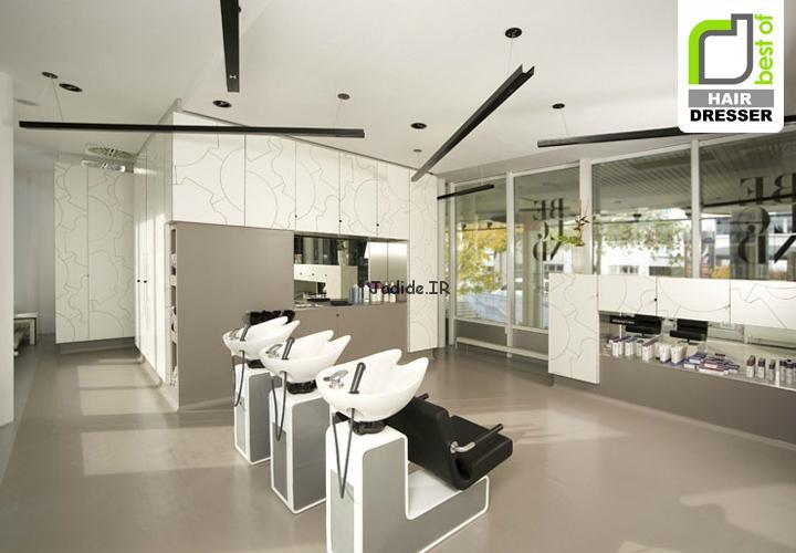 مدل دکوراسیون و طراحی سالن آرایشگاه زنانه 2016