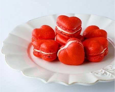 valentine chiken1 4 مدل کیک و شیرینی ولنتاین