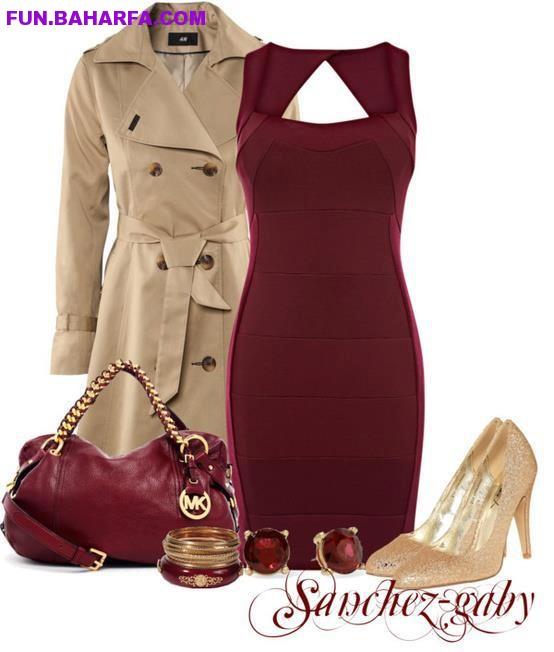 ست کامل لباس و کفش کیف و جواهرات زنانهست کامل لباس زنانه-baharfa.com