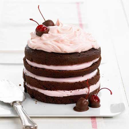 valentine chiken1 7 مدل کیک و شیرینی ولنتاین