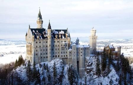 قصر نوی شوان اشتاین,قصر نوی شوان اشتاین آلمان