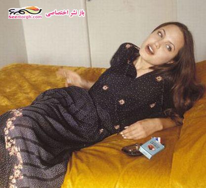 عکسهای آنجلینا جولی در فیلم گناه اصلی