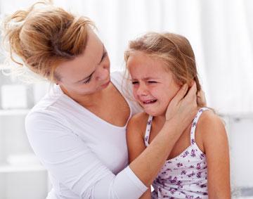 عفونت گوش در کودکان نشانه علت و درمان