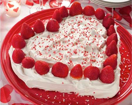 valentine chiken1 2 مدل کیک و شیرینی ولنتاین