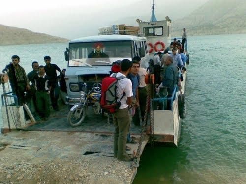 فاجعه در دریاچه ی سد کارون 3- برگرفته از سایت تابناک