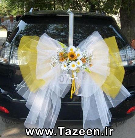 مدل ماشین عروس 2014