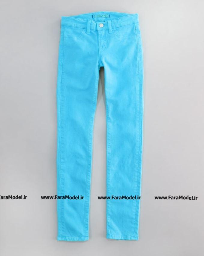 شلوار جین های دخترانه